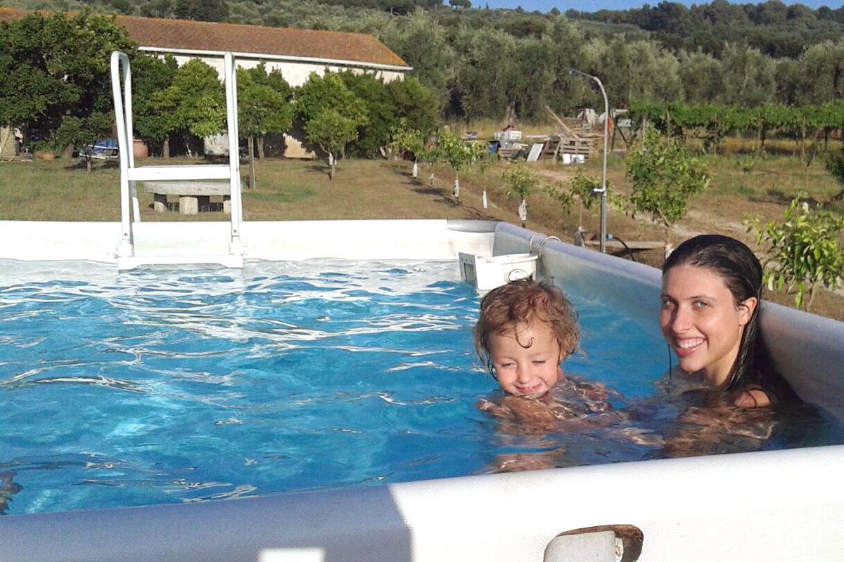 agriturismo con piscina a castagneto carducci