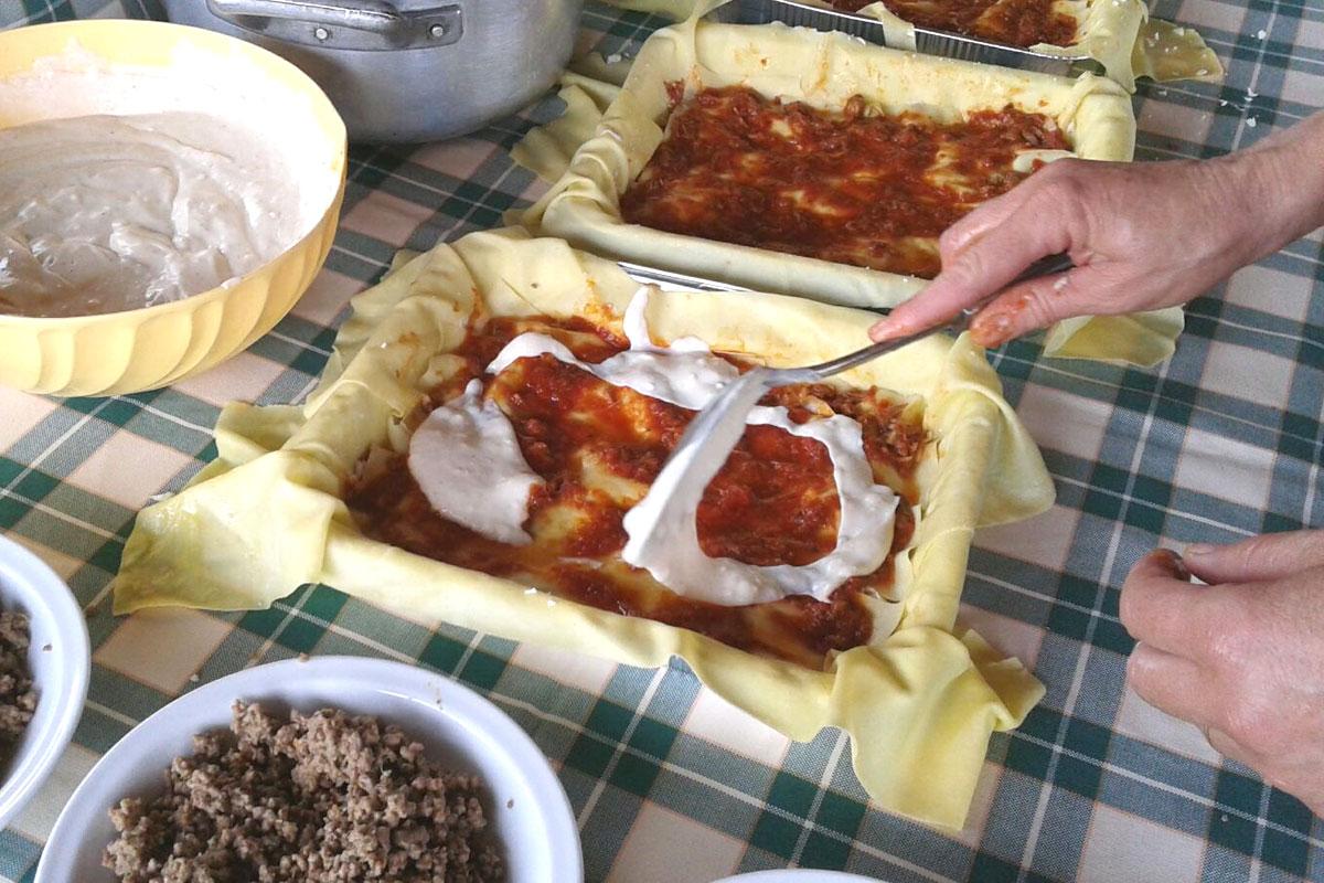 agriturismo con ristorante a castagneto carducci